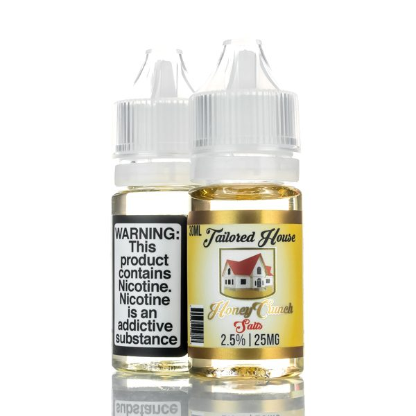 Tailored House Salts Honey Crunch 30ml