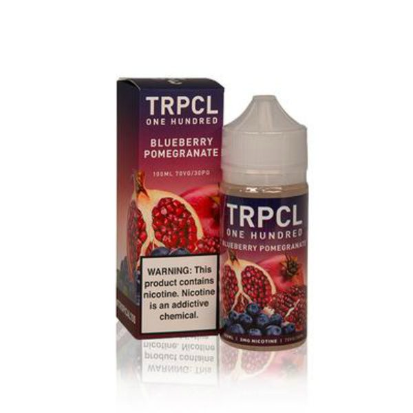 Tropical 100 Blueberry Pomegranate 100ml