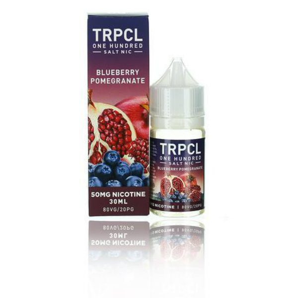 Tropical 100 Salts Blueberry Pomegranate 30ml