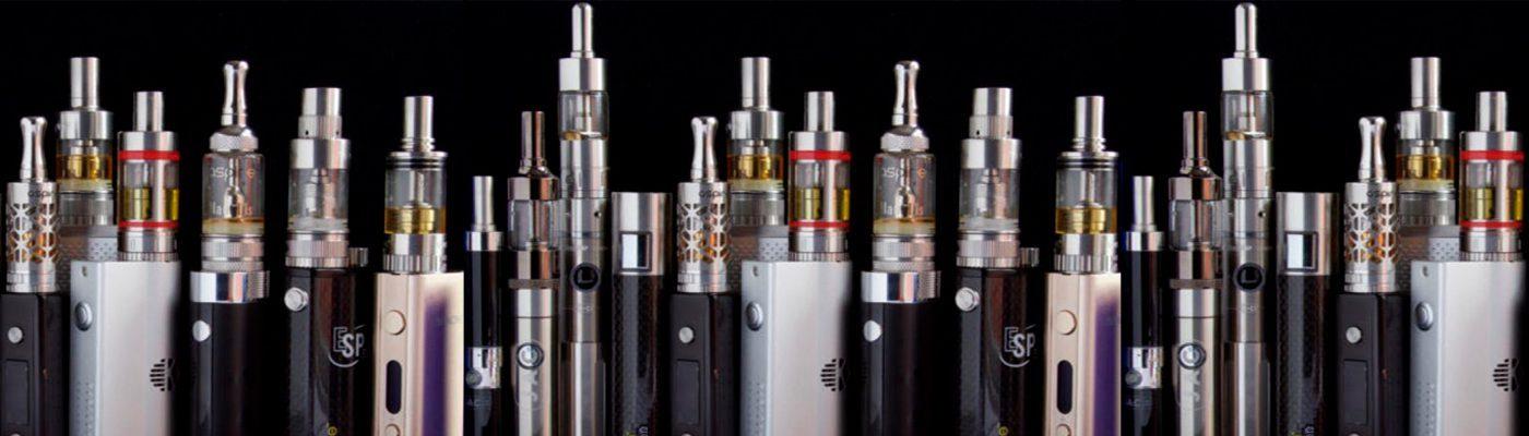 E-cigarettes-of-sundry-kinds