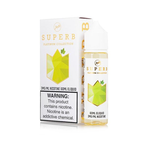 Superb x JayBo Platinum Collection White Grape 60ml