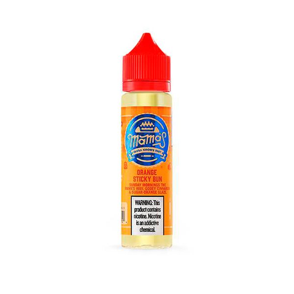 Mama's E-Liquid Orange Sticky Bun 60ml