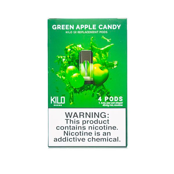 Kilo 1K Green Apple Candy Pods